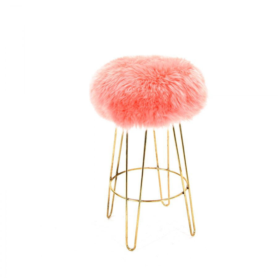 Chairs Amp Stools Georgie Baa Stool In Baby Pink